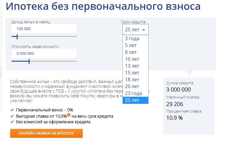 Взять ипотеку без первоначального взноса в 2021 году в москве, купить квартиру в ипотеку без первого взноса на выгодных условиях