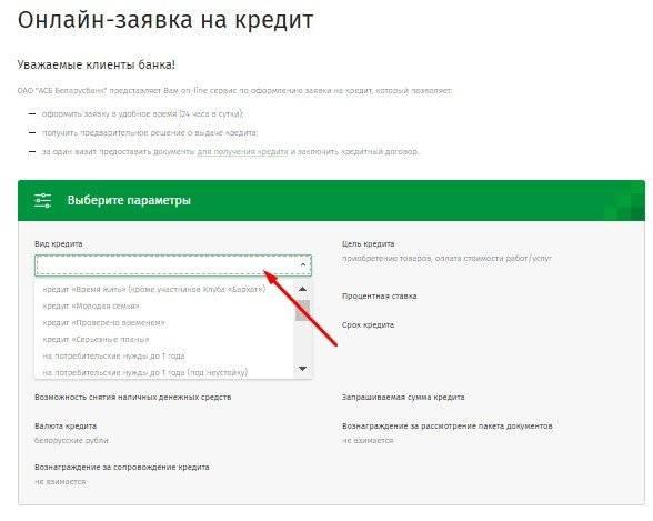 Кредит для пенсионеров в беларусбанке - обзор выгодных программ