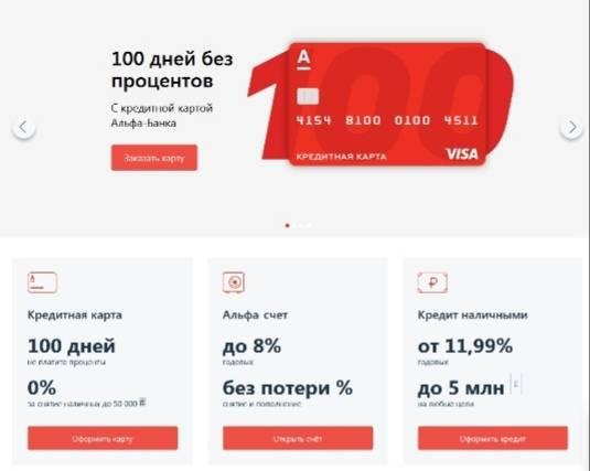 Кредиты в альфа-банке: подробные условия и онлайн-заявка